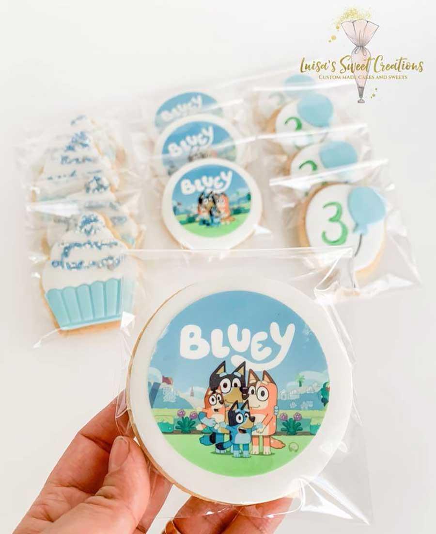 Custom made sugar cookies by Luisa's Sweet Creations Brisbane
