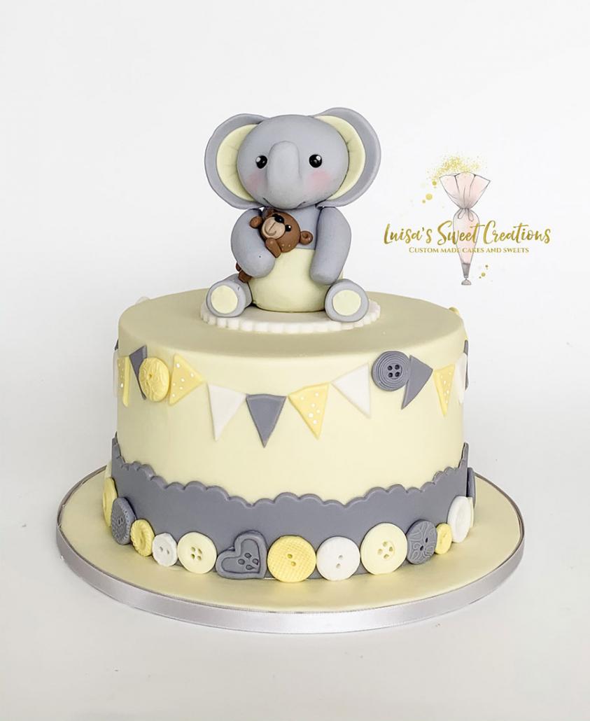 Baby shower cakeby Luisas Sweet Creations Brisbane
