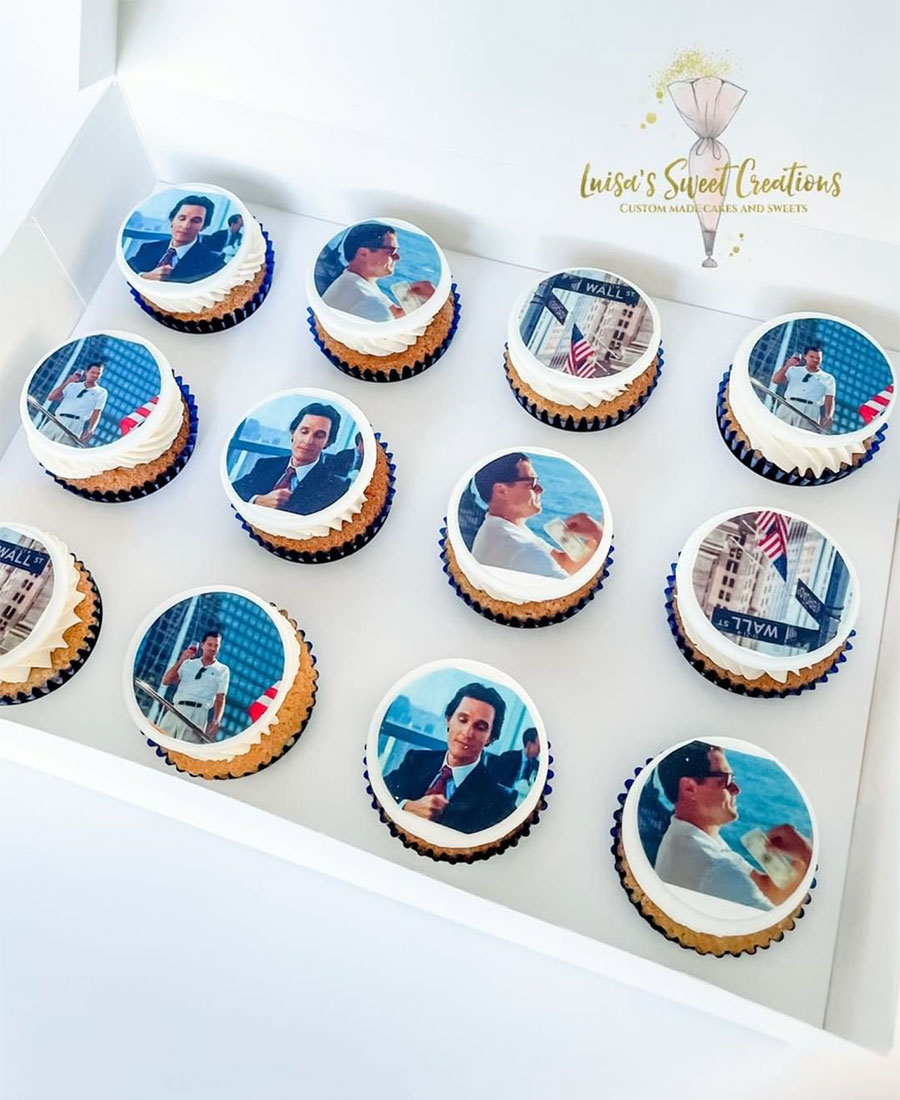 Edible photo images on custom made cupcakesBrisbane by Luisa's Sweet Creations Moggill